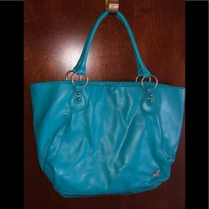 ROXY Turquoise Tote Bag